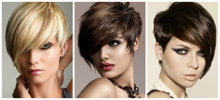 A side-swept, asymmetrical, short haircut is fun, edgy, pretty and looks great on most face shapes.